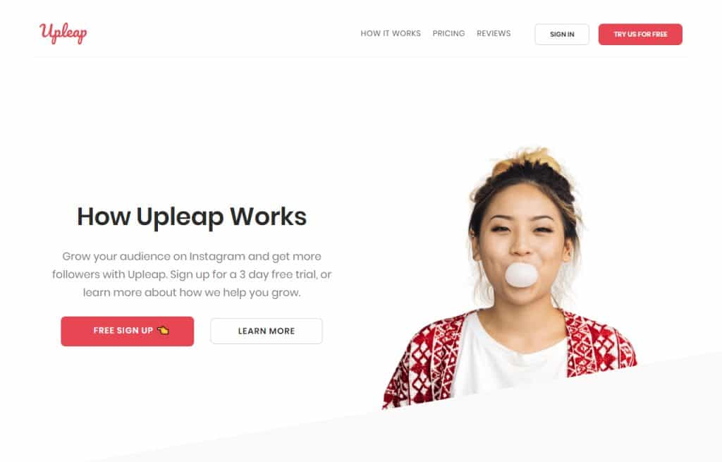 Upleap Review of how it works