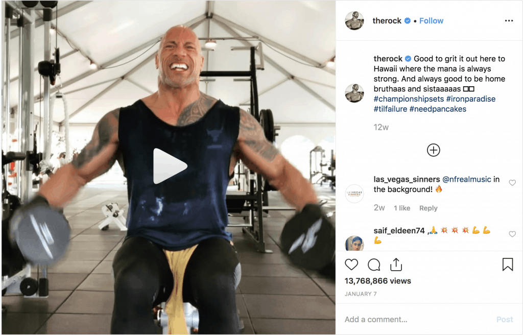 The Rock Instagram Everything You Need To Know About