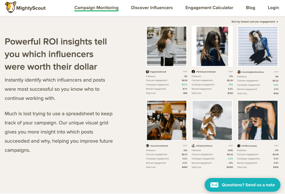 MightyScout - Instagram influencer marketing platform