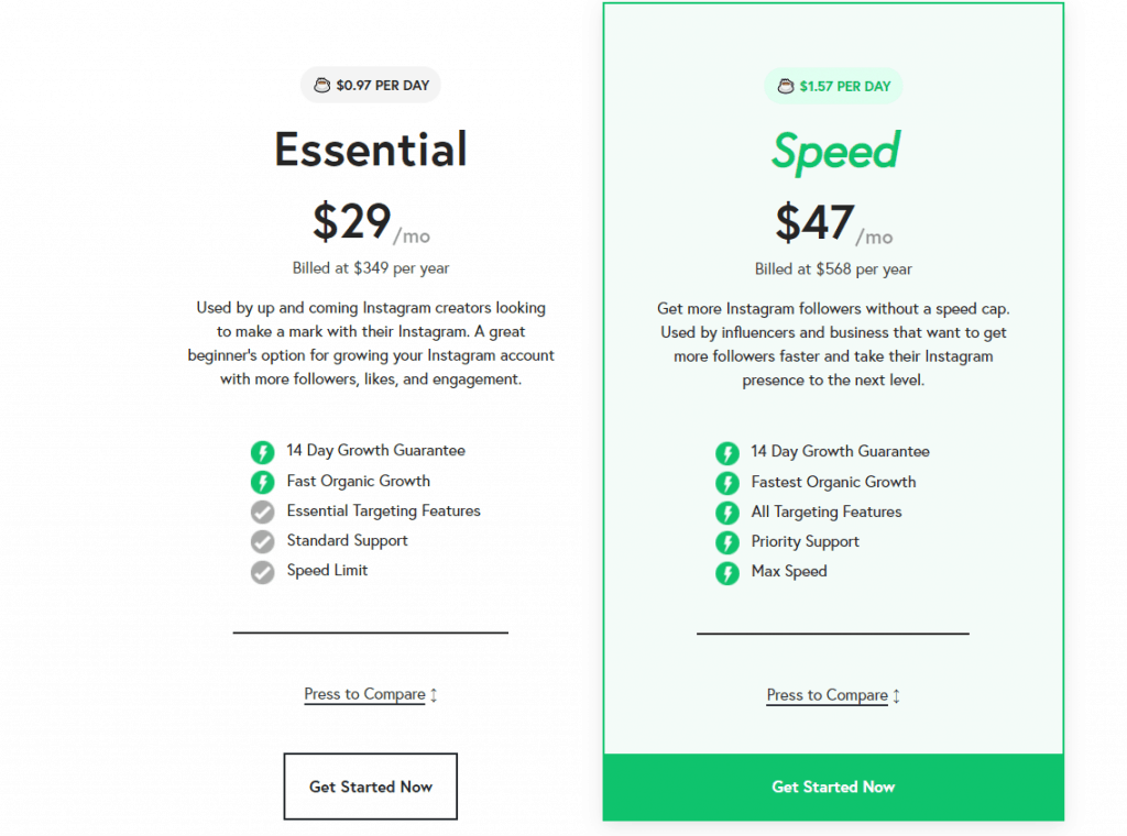 nitreo pricing examples