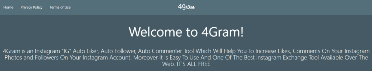 A screenshot of an explanation of what 4gram is