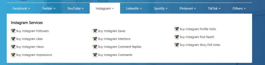 A screenshot showing instagram offers